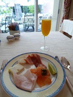 優雅なポルトガル旅・憧れのマデイラ島でバカンス♪ Vol57(第5日目朝) ☆リスボン:貴族館のホテル「ラパ・パレス」の優雅な朝食♪