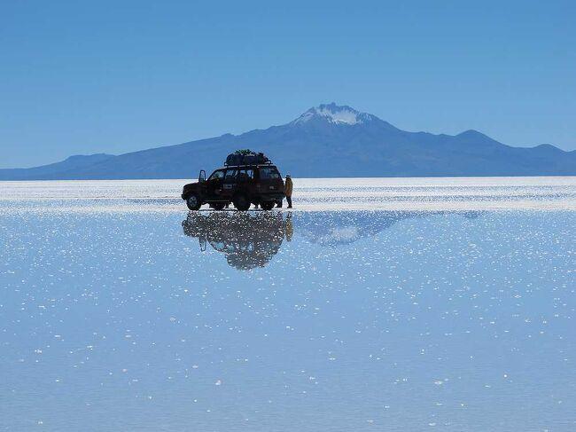 団塊夫婦の世界一周絶景の旅2012年・ボリビア編2−絶景のウユニ塩湖を行く(初日)