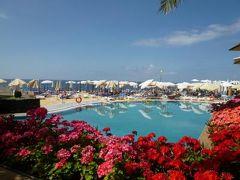 優雅なポルトガル旅・憧れのマデイラ島でバカンス♪ Vol64(第6日目午前) ☆マデイラ島フンシャル:高級ホテル「クリフ・ベイ」のプールやスイートルームのテラスで優雅にくつろぐ♪