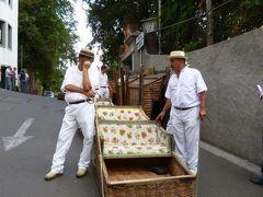 優雅なポルトガル旅・憧れのマデイラ島でバカンス♪ Vol69(第6日目午後) ☆マデイラ島モンテ:「Monte」のトボガン見学とフンシャルのマデイラ刺繍の店でショッピング♪