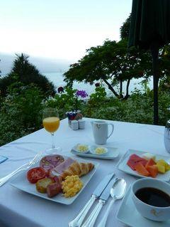 優雅なポルトガル旅・憧れのマデイラ島でバカンス♪ Vol72(第7日目朝) ☆マデイラ島フンシャル:「クリフ・ベイ」の朝食と一日観光の始まり♪