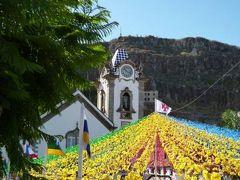 優雅なポルトガル旅・憧れのマデイラ島でバカンス♪ Vol74(第7日目午前) ☆マデイラ島リベイラ・ブラヴァ:「Ribeira Brava」の美しい教会と幻想的なお祭りを鑑賞♪