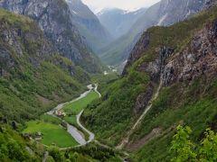 北欧GR49 NOR27 スタルハイム渓谷を眺めるホテルで ☆ティータイム休憩