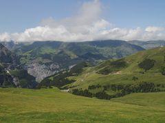 201207-04 パリ&スイス (2012年7月16日 アイガーグレッチャー~クライネシャイデック間のトレッキング)Trekking between Eigergletscher and Kleine Scheidegg / Switzerland