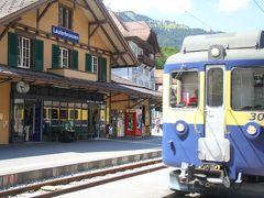 201207-05 パリ&スイス (2012年7月16日 クライネシャイデック~シーニゲプラッテ間の車窓から)Views from a train between Kleine Scheidegg and Schynige Platte / Switzerland