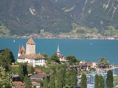 201207-10 パリ&スイス (2012年7月17日 グリンデルワルト~ツェルマット間の移動)Views from a train between Grindlewald and Zermatt