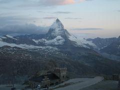 201207-16 パリ&スイス (2012年7月18日-19日 ゴルナーグラート)Gornergrat/Switzerland