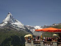 201207-14 パリ&スイス (2012年7月18日 スネガ展望台)Sunnegga / Switzerland