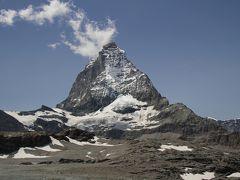 201207-15 パリ&スイス (2012年7月18日 マッターホルン・グレッシャー・パラダイスへ)Matterhorn Glacier Paradise