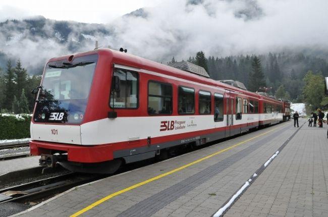 2011年9月の連休と夏休みを利用してオーストリアに行ってきました。<br />ハプスブルク家の栄華を今に伝える歴史的建造物、世界遺産に指定された美しい街並み、チロル地方を彩るアルプスの山々、高原を走る登山鉄道のSL・・・。<br />オーストリアはヨーロッパの中では比較的マイナーですが、北海道とほぼ大きさの国内には様々な魅力に溢れていました。<br /><br />今回もブログ『マリンブルーの風』に掲載した旅行記を若干省略の上再編集して掲載しています。<br />ブログ版の旅行記もぜひご覧ください。<br /><br />『マリンブルーの風』<br />http://blog.livedoor.jp/buschiba/<br /><br />2011年オーストリア旅行記目次<br />http://blog.livedoor.jp/buschiba/archives/52213513.html<br /><br /><br />■ 日程<br /><br />9/16 金 成田空港からウィーンへ<br />9/17 土 ウィーン市内観光 シェーンブルン宮殿、美術史美術館、国立図書館など見学<br />9/18 日 セメリンク鉄道を経由しザルツブルグへ ハルシュタット散策、 城塞コンサート鑑賞<br />9/19 月 ザルツブルク観光 トラウンゼー鉄道、アッターガウ鉄道乗車<br />9/20 火 ツェル・アム・ゼー、クリムル散策 ピンツガウ地方鉄道乗車<br />9/21 水 ザルツカンマーグート観光 シャーフベルグ登山鉄道乗車 インスブルックヘ<br />9/22 木 インスブルック観光 市内観光、ケーブルカー、ロープウェー、トラム乗車<br />9/23 金 チロル観光 ツィラータール鉄道、アーヘンゼー鉄道乗車、アーヘン湖遊覧船乗船<br />9/24 土 インスブルック→フェルトキルヒ→ウィーンと移動 楽友協会でコンサート鑑賞<br />9/25 日 ホーフブルグ宮殿を見学し、空港へ<br />9/26 月 成田空港着<br /><br />オーストリア旅行記の第25回です。<br />9月20日。今日も雨が降っています。予定を変更し、ピンツガウ地方鉄道に乗りに行きました。<br /><br />