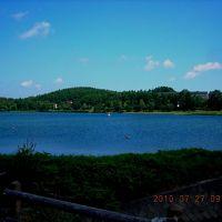 女神湖、夏の思い出(2010年7月27日)(心洗われる小さな湖)