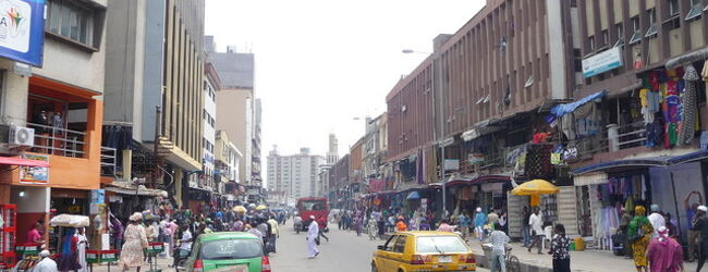 西アフリカの経済大国ナイジェリアのラゴ...