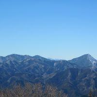 2012冬 あじさい館から 関八州見晴台