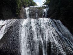 暑くてどうしようもないので、袋田の滝に行って来ました(>_<;)!