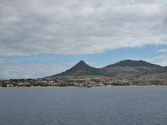 優雅なポルトガル旅・憧れのマデイラ島でバカンス♪ Vol110(第10日目午前) ☆ポルト・サント島:Porto Santoフェリーのファーストクラスでポルト・サントへ船旅♪美しい島を洋上から眺めて♪