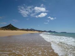 優雅なポルトガル旅・憧れのマデイラ島でバカンス♪ Vol111(第10日目午前) ☆ポルト・サント島:美しいビーチの一番外れ「Ponta do Calheta」で優雅に過ごす♪
