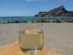 優雅なポルトガル旅・憧れのマデイラ島でバカンス♪ Vol112(第10日目昼) ☆ポルト・サント島:美しいビーチの一番外れ「Ponta do Calheta」で絶景を眺めながら優雅なランチ♪