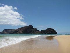 優雅なポルトガル旅・憧れのマデイラ島でバカンス♪ Vol114(第10日目午後) ☆ポルト・サント島:「Ponta do Calheta」の美しいビーチで午後のまどろむようなひとときを優雅に過ごす♪