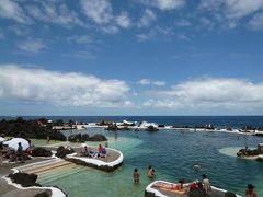 優雅なポルトガル旅・憧れのマデイラ島でバカンス♪ Vol120(第11日目午後) ☆マデイラ島ポルト・モニス:「Porto Moniz」の景勝地に囲まれた海水プールと優雅なランチ♪