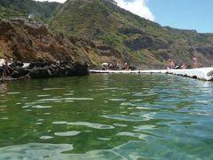 優雅なポルトガル旅・憧れのマデイラ島でバカンス♪ Vol121(第11日目午後) ☆マデイラ島ポルト・モニス:「Porto Moniz」の景勝地に囲まれた海水プールで優雅に過ごす♪