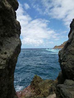 優雅なポルトガル旅・憧れのマデイラ島でバカンス♪ Vol122(第11日目午後) ☆マデイラ島ポルト・モニス:「Porto Moniz」の海水プールで優雅に過ごす♪そしてフンシャルへ帰る♪