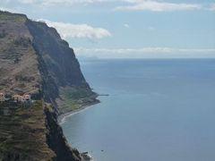 優雅なポルトガル旅・憧れのマデイラ島でバカンス♪ Vol129(第12日目昼) ☆マデイラ島:フンシャルから1時間のドライブ♪ジラオン岬などの海岸美と山岳美を楽しむ♪