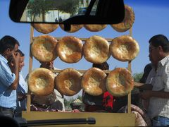 2011年秋ウズベキスタン旅行第4日目(4)ブハラからシャフリサーブスへの車窓の外の景色