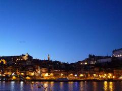 優雅なポルトガル旅・憧れのマデイラ島でバカンス♪ Vol143(第13日目夜) ☆ポルト:夜景の美しい世界遺産ポルトとドウロ川を眺めて♪