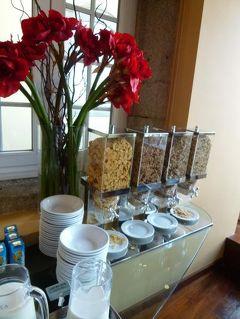 優雅なポルトガル旅・憧れのマデイラ島でバカンス♪ Vol144(第14日目朝) ☆ポルト:「Hotel Pestana Porto」の朝食を頂く♪