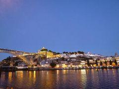 優雅なポルトガル旅・憧れのマデイラ島でバカンス♪ Vol166(第15日目夜) ☆ポルト:最後の美しい夜景を眺めながらホテルへ帰る♪