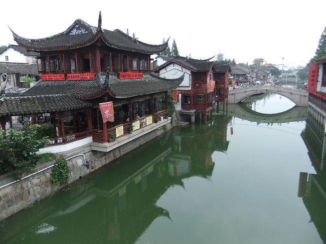 上海2日目は、地下鉄で行けるお手軽水郷古鎮の七宝へ。<br />広くなく、さくっと見て回れるのもGood♪<br />ただ、めっちゃ人多かったけど。。。