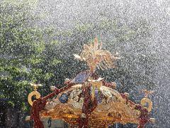 深川・富岡八幡宮の水掛け祭り