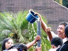 Indonesia バリ ロングステイの下見旅(2/11) ゴルフ場で地元の中高生の新人歓迎会