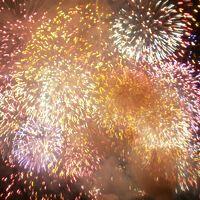 2012夏第63回とうろう流しと大花火大会(^。^)福井県敦賀市、松原海水浴場。