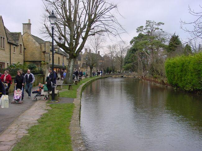 イギリス「コッツウォールズの旅」2005 正月家族旅行