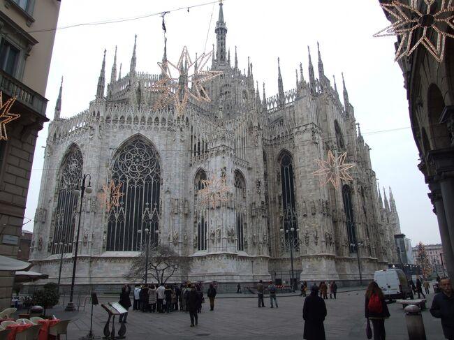 5年前南イタリアを家族で旅行した、今回は北イタリアを回った。<br />ミラノ・ヴェローナ・ベネチア・フィレンチェ・ピサ・ローマ・バチカン市国とどこも大変印象的ですばらしく、十分堪能した。<br />バチカン市国では正月のベネディクト16世による礼拝に参列した。<br />5年前はヨハネ・パウロ2世による礼拝に参列した。