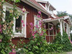 伝統的なスウェーデンのサマーハウスで過ごす小さな夏休み