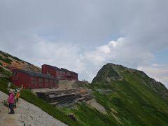 2012.08.唐松岳で山小屋泊♪