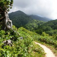 夫と登って熊本のおじさんと下山した 晩夏の三ノ峰登山