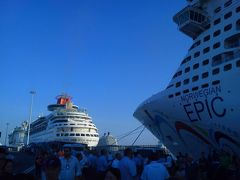 ノルウェージャン・エピック号で行く、真夏の地中海クルーズの旅。その3