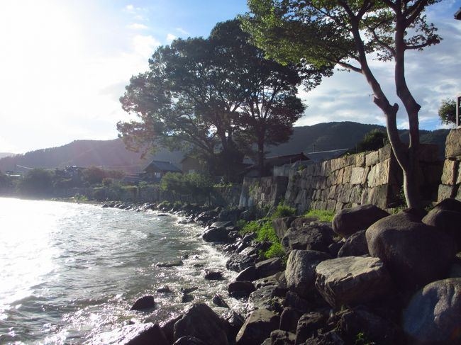 熊川宿を歩いた後は彦根に帰ろうかと思いきやの、琵琶湖が思った以上に綺麗だったので海津の町も少し歩いてきました。マニアックな場所ですけど、宜しければどうぞ~