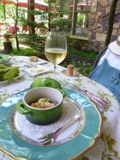 2012年 浅間高原の優雅な避暑ライフ♪ Vol13 ☆フランス料理「LE BEL COEUL」で愛犬と一緒に優雅なランチ♪