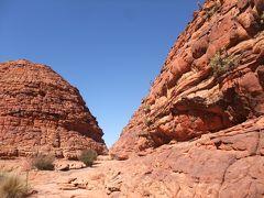 オーストラリア(レッドセンター)激走4600kmレンタカーの旅③(キングス・キャニオン~ウルル)