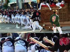 岸和田だんじり祭 2012年9月16日(日)本宮 「やりまわしの動画添付中」