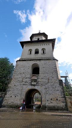 2012.8ルーマニア・モルドヴァ一人旅11-スチャヴァ街歩き  聖ゲオルゲ教会やたくさんの教会 歴史博物館など
