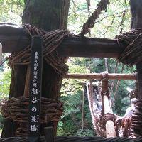 2012年9月 徳島 吉野川ラフティングとかずら橋