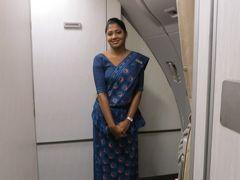 1・スリランカでアーユルヴェーダ/スリランカ航空