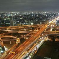 日本一の絶景夜景ポイント 東大阪JC 【東大阪市役所 22階展望台 無料です】 から望む