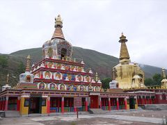 チベット・アムド【4】大仏塔とタンカの里
