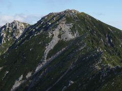 2012 空木岳&南駒ケ岳山行